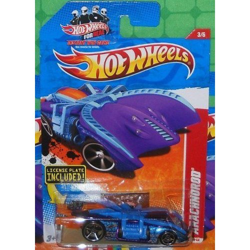 2011 Hot Wheels ホットウィール 207/244 - Thrill Racers CAVE 3/6 - Arachnorod (紫の/青)ミニカー