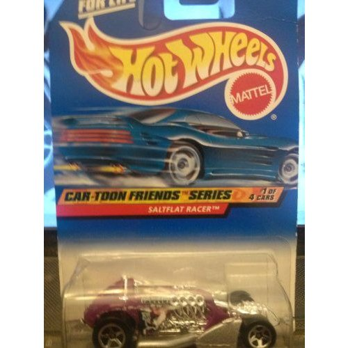 Hot Wheels ホットウィール Car-toon Friends Series #1 of 4 Saltflat Racer 985ミニカー モデルカー ダ
