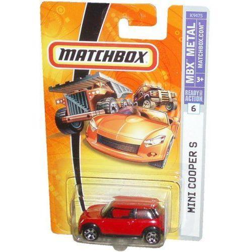 Mattel マテル マッチボックス 2006 1:64 スケール 赤 Mini Cooper ミニクーパー S Die Cast Car #6ミニ