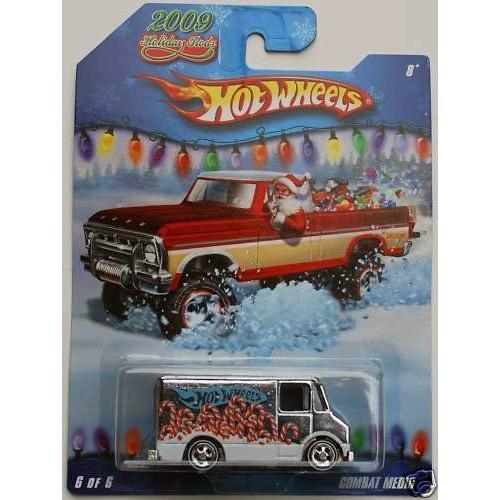 Hot Wheels ホットウィール 2009 Holiday Rods #6/6 - 銀 Combat Medicミニカー モデルカー ダイキャ