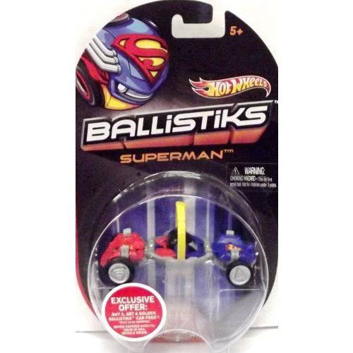 Hot Wheels ホットウィール Ballistiks Vehicle - Supermanミニカー モデルカー ダイキャスト