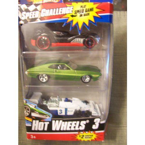 Hot Wheels ホットウィール 3 Speed Challenge Pack ~ Howlin' Heat, '72 Ford フォード Gran Torino Spo