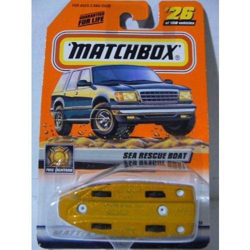 マッチボックス 2000 Treasure Hunt Sea Rescue Boat Factory Mispackミニカー モデルカー ダイキャスト