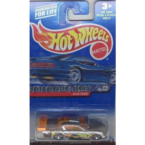 Hot Wheels ホットウィール 2000 038 GRAY/オレンジ AT-A-TUDE SPEED BLASTER SERIES 2 of 4 1:64 スケール
