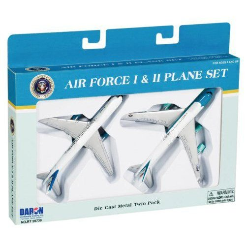 Air Force One 2 Plane set, Air Force One and Air Force Twoミニカー モデルカー ダイキャスト