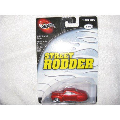 Hot Wheels ホットウィール Street Rodder - '41 Ford フォード Coupe - No 3/4ミニカー モデルカー ダイ