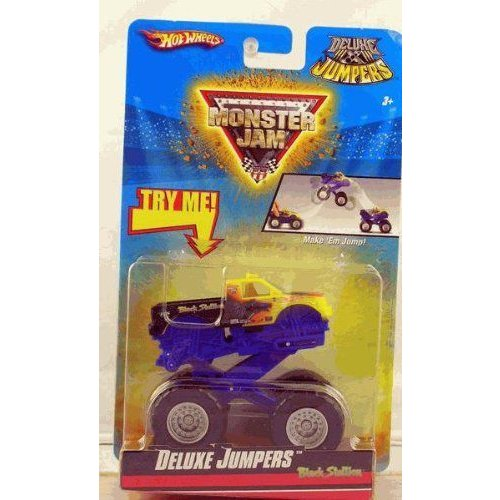 Hot Wheels ホットウィール Monster Jam 2010 黒 STALLION Deluxe Jumpers Collectible Truckミニカー