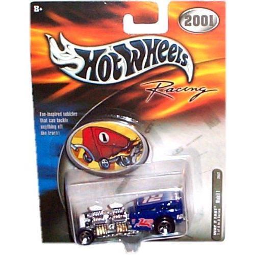 Hot Wheels ホットウィール Racing - 2001 - Way 2 Fast - Mobil 1's #12 (青 color) - Race Car Repli