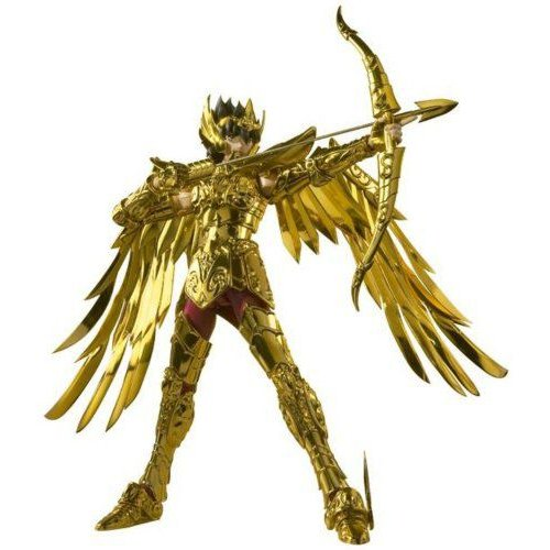 Bandai バンダイ Tamashii Nations Sagittarius Seiya - Saint Cloth Myth Crown フィギュア 人形 おもち