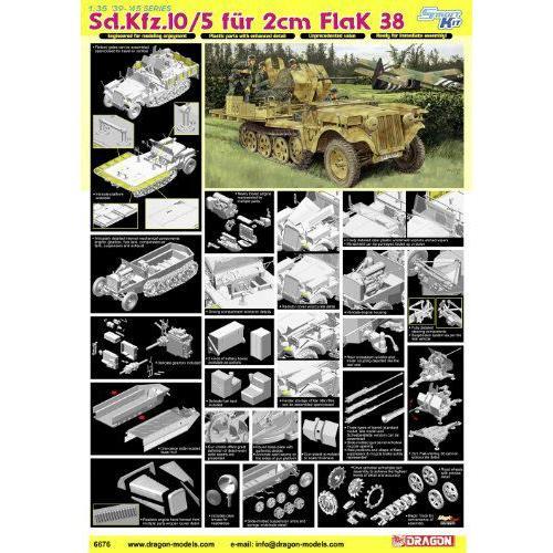 1/35 2cm対空砲搭載 1tハーフトラック Sd.Kfz.10/5 (スマートキット)