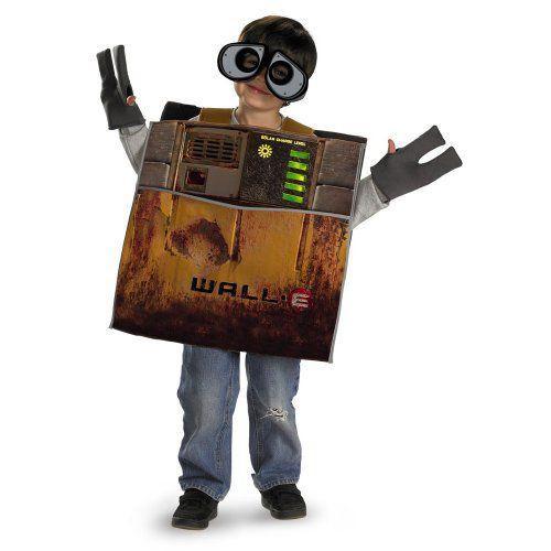 Disney Pixar Wall * E Deluxe Child Costume ディズニーピクサーの壁* Eデラックス子供用コスチューム♪