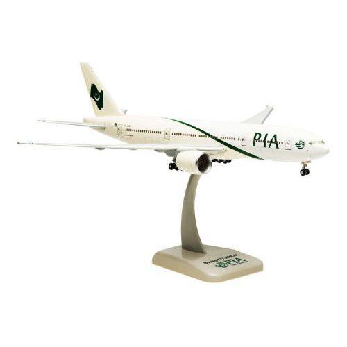 1: 200 ホーガンウィングス Pakistan インターナショナル ボーイング 777-200LR with Landing Gear