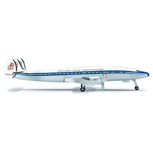 1: 500 ヘルパウィング Breitling Lockheed L-1049H Super Constellation Flyers