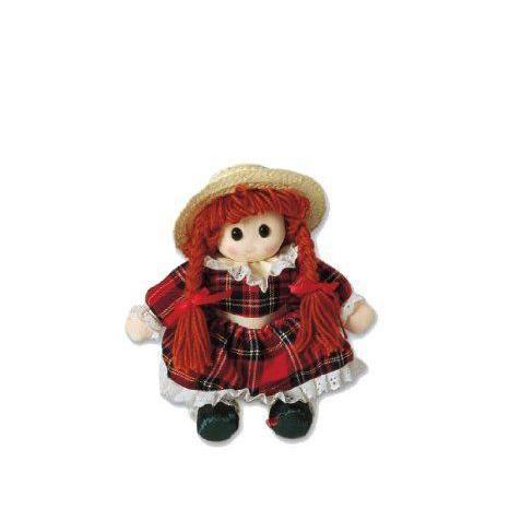 Amy Rag Doll Sitting With Hat ドール 人形 フィギュア