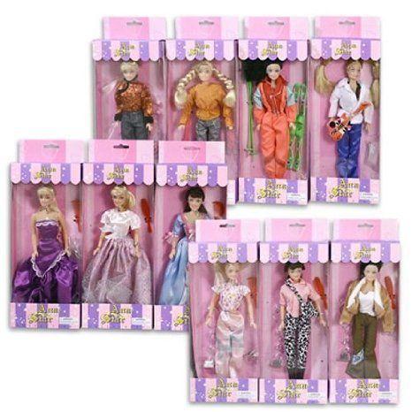 Ana Plastic Doll 11.5