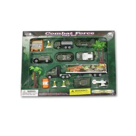 Combat force プレイセット - Pack of 16