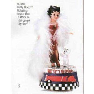 Madame Alexander (マダムアレクサンダー) Collectibles Betty Boop Music Box ドール 人形 フィギュア