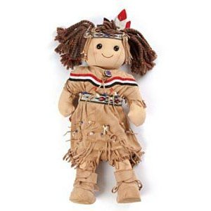 My Doll 42 cms. Native american Indian girl doll ドール 人形 フィギュア
