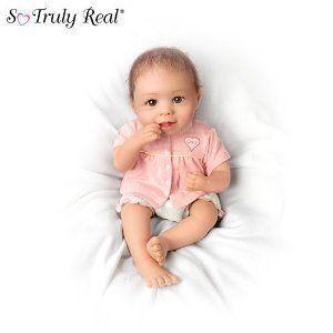 Precious Grace Lifelike Baby Doll by Ashton Drake ドール 人形 フィギュア