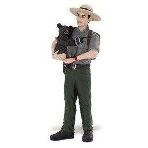Safari 226729 Jim - Park Ranger Miniature- Pack of 3