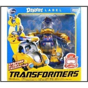 Transformers: Disney (ディズニー)Label Donald Duck Bumblebee by Tomy TOY ドール 人形 フィギュア