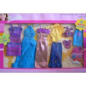 Barbie(バービー) 6 Fashion Gift Pack - 6 Fabulous Fashions So Many Looks! (2001) ドール 人形 フィ