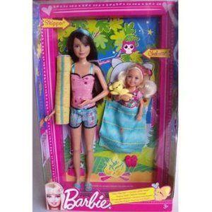 Barbie(バービー) Sister 2 Doll Pack Skipper & Chelsea Sisters Sleep Out ドール 人形 フィギュア
