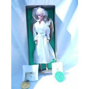 Palmers of Austria Angel Barbie(バービー) in 白い Chemise and 白い Robe (1997) ED - RARE ドール