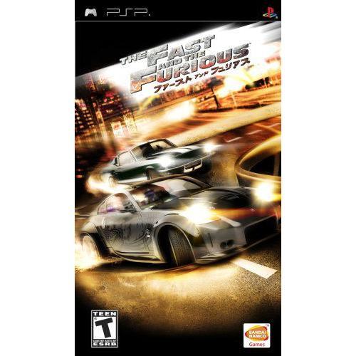 Fast and the Furious (PSP 輸入版)日本版PSP動作可