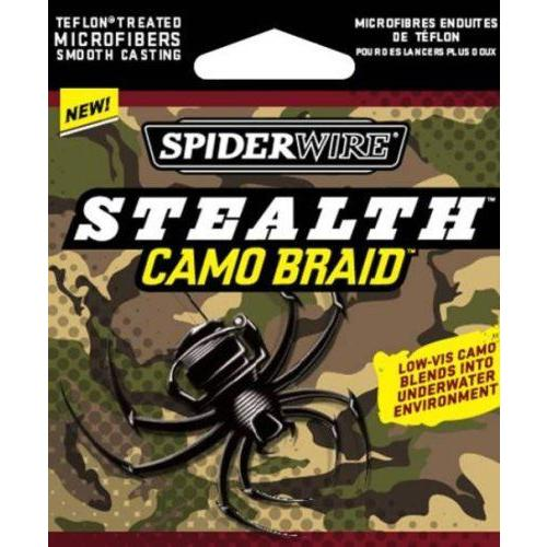 日本最大のブランド Spiderwire Spiderwire 20/6) Stealth Braid 125-Yard Spool (Camo Pound/Diameter Spool 20/6), ヒロショウe-shop:43b60a17 --- airmodconsu.dominiotemporario.com