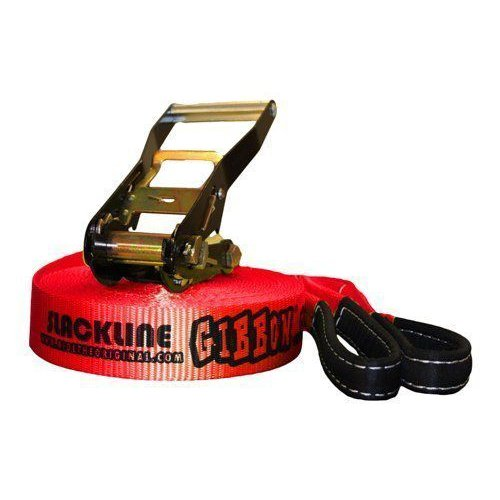 2018新発 GIBBON CLASSIC SLACKLINE 15m SLACKLINE Red 15m ギボン クラシック スラックライン CLASSIC 15m レッド, b-square:1cc29e3a --- airmodconsu.dominiotemporario.com