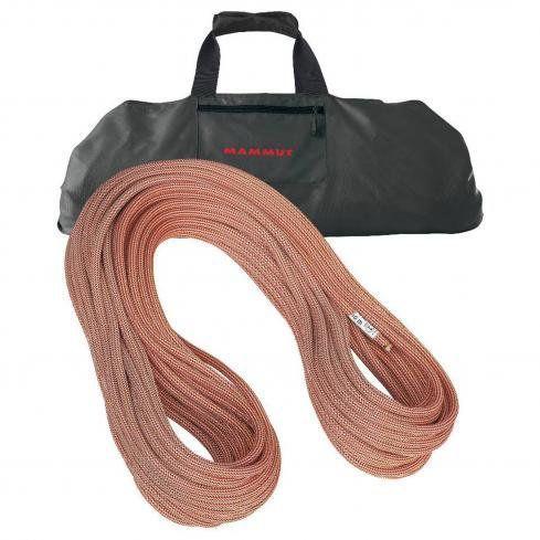 あなたをしっかり支えます★ロープバッグ ロープクライミング Mammut社 レッド