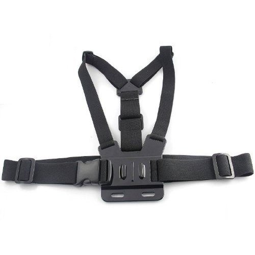 Adjustable Chest Mount Harness For GoPro HD Hero 2 & 3 Camera - 黒