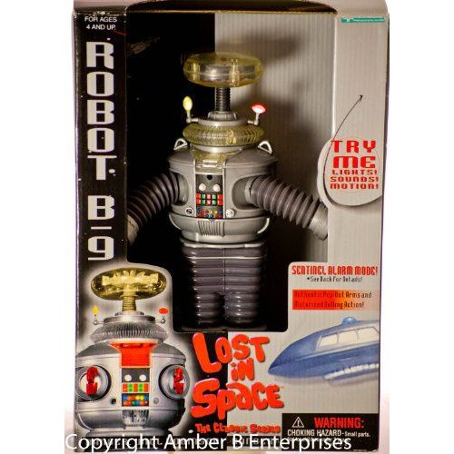 Classic Lost In Space B9 ROBOT Electronic light, sound, & Motion 10