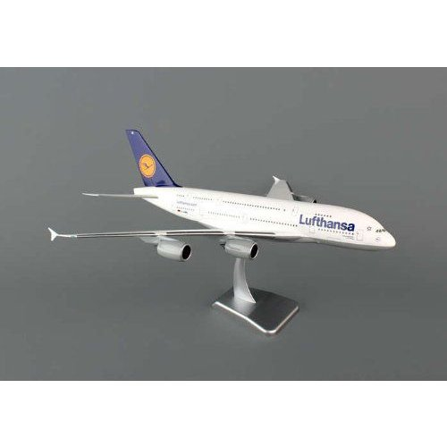1: 200 ホーガンウィングス Lufthansa エアバス 380 D-AIMC, Peking, no Landing Gear