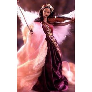 1998 Angels of Music Collection Heartstring Angel Barbie(バービー) (African American) ドール 人形