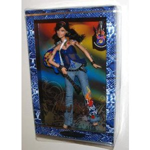 2005 Barbie(バービー) Collector 銀 Label, Hard Rock Barbie(バービー) Doll with Guitar and Excl