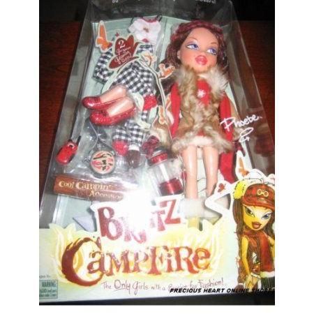 Bratz (ブラッツ) Campfire Phoebe Doll ドール 人形 フィギュア