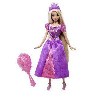 Disney (ディズニー)Princess Color Change Brush Rapunzel Doll ドール 人形 フィギュア