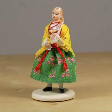 Folk Doll - Gorale, Zakopane Female 4.75 inches ドール 人形 フィギュア