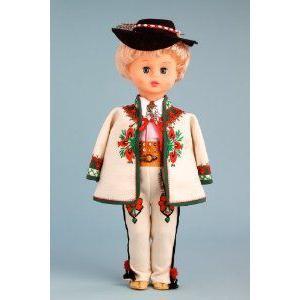 Highlander Boy (Goral) - 18 Inch Collectible Regional Doll ドール 人形 フィギュア
