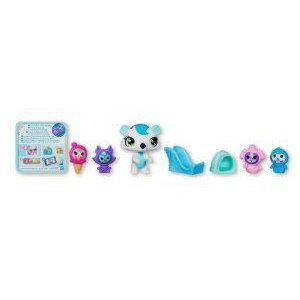Littlest Pet Shop (リトルペットショップ) - CHILLI WEATHER - #3210 Polar Bear+ #3211 Bunny Friend +