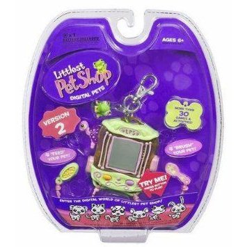 Littlest Pet Shop (リトルペットショップ) Virtual Electronic Digital Pet Toy (Similar to Tamagotchi