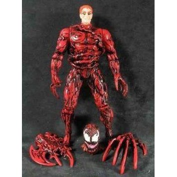 Marvel (マーブル) Comics Spider-man: Carnage Uneashed with Removeable Symbiotic Limbs! And Bonus C