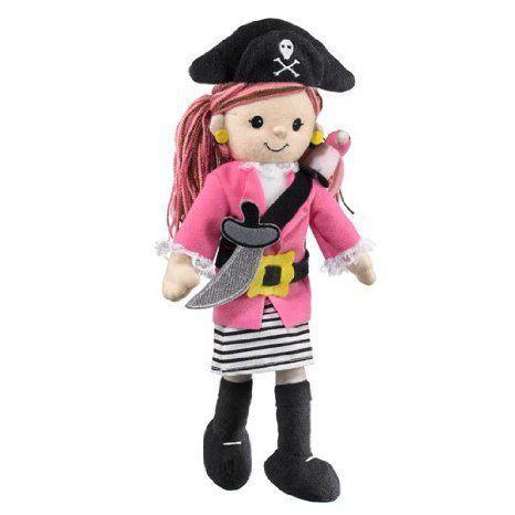ピンク Pirate Girl with Parrot 12