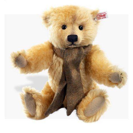 Steiff (シュタイフ) 2012 Dominic UK Exclusive Blonde Teddy Bear ドール 人形 フィギュア