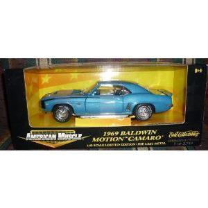 #32471 Ertl 1969 Baldwin Motion Camaro (カマロ) (カマロ) 1/18 スケール ダイキャスト ミニカー ダイ