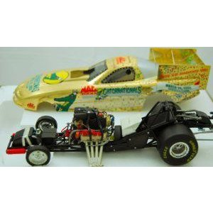 2001 - Action - Mac Tools - Firebird Funny Car - Gatornationals - 1:24 スケール - ダイキャスト Met