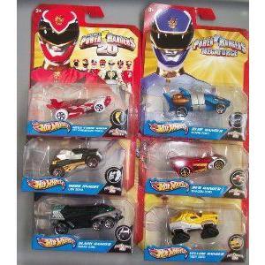 6 Pack Power Rangers MegaForce Robo Knight, Mega Strick Ranger, 黒 Ranger, 青 Ranger, 赤 Ran