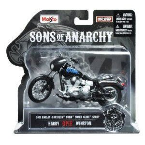 Maisto (マイスト) Sons of Anarchy 2001 HD Dyna Superglide Sport Harry